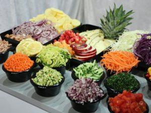 Gesneden groente